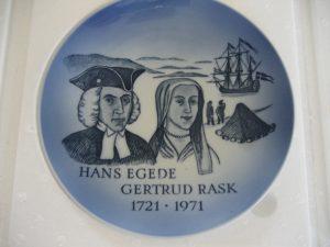 Hans Egede og Gertrud Rask